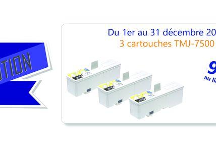 Promotion Isiboutique Cartouches TMJ-7500