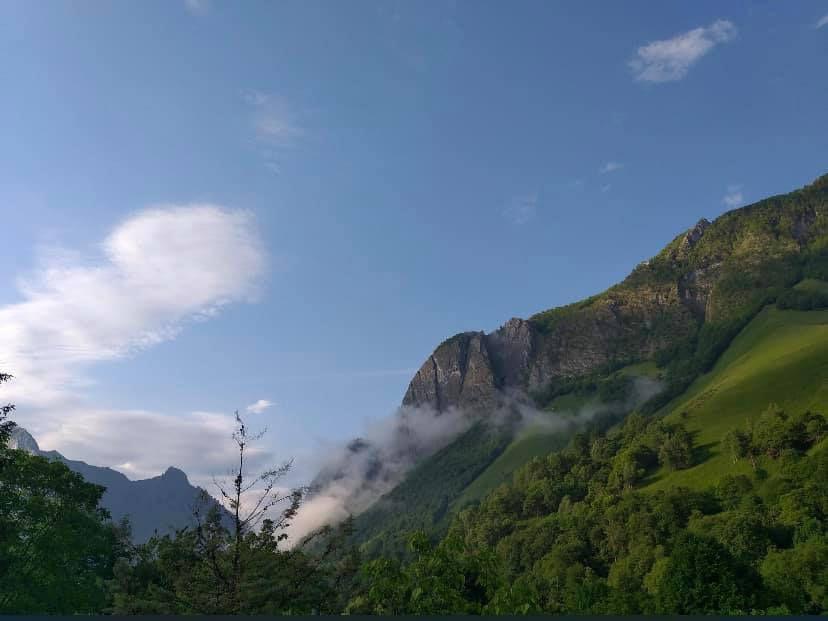 Belles éclaircies ce matin en Ardèche