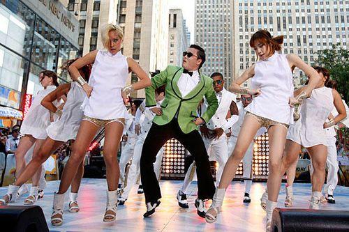 La comunicazione Gangnam style