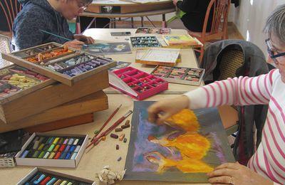 Pastel sec / Dessin / Peinture