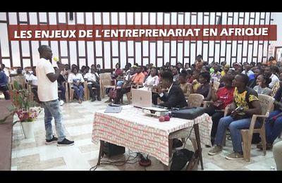 Loïc Kamwa - Les enjeux de l'entrepreneuriat en Afrique