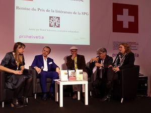 La Place Suisse, au Salon du Livre de Genève 2015