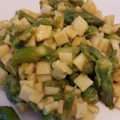 Crozets aux asperges