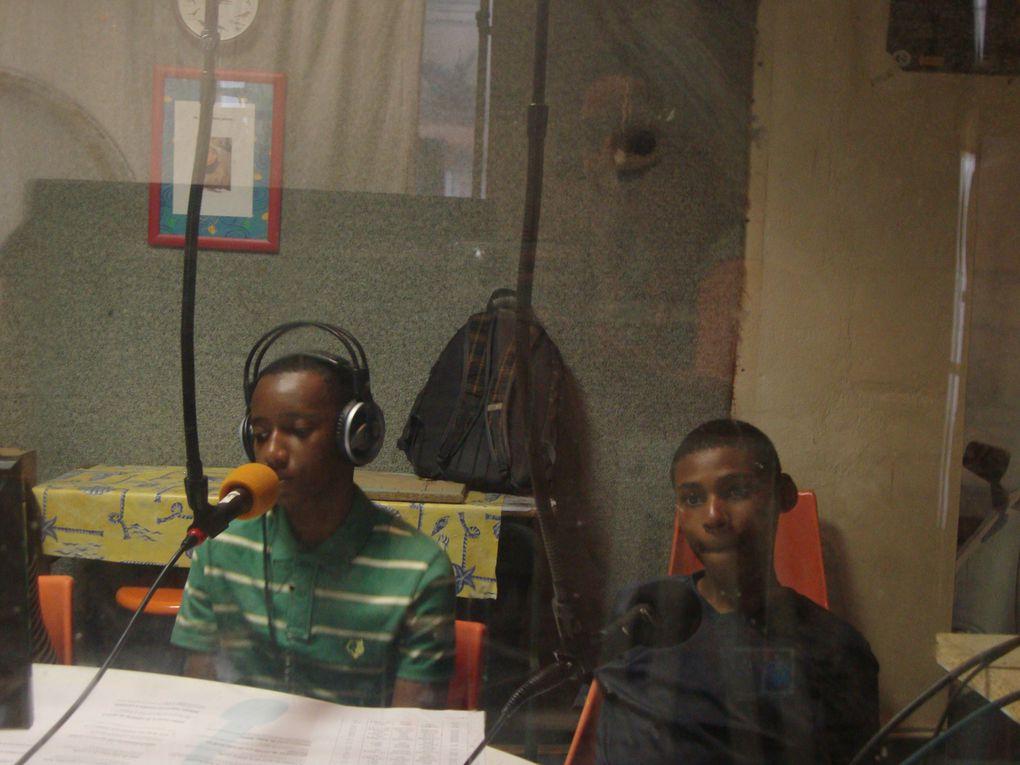 Première séance de radio en direct!