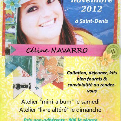 ... Crop 3&4 novembre 2012 avec Céline Navarro ...