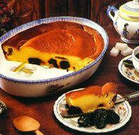 Recette de cuisine : Far breton aux framboises et vanille