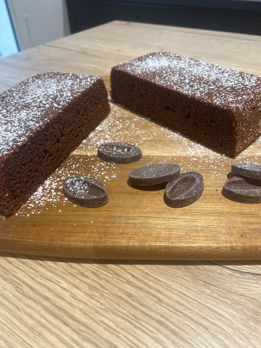Gâteau moelleux, chocolat et betterave