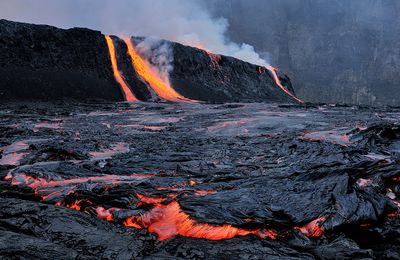 Grunewald and the Nyiragongo in the headlines in November.