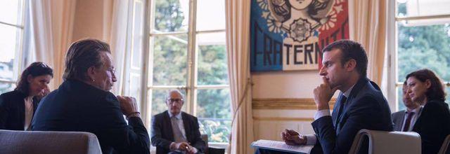 Bono à l' Elysée Palace -Paris 24-07-2017