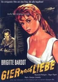Filmographie Brigitte Bardot : La lumière d'en face de 1955