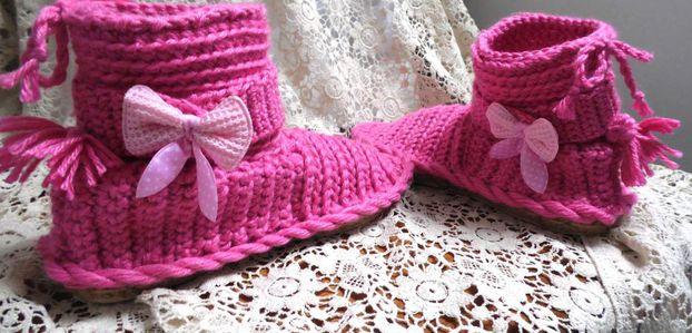 Idée tricot avec 2 pelotes de laine
