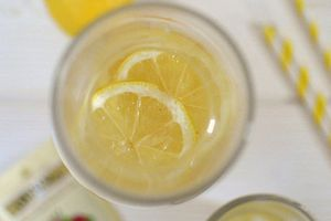Limonade Thé Fruits Rouge - Citron