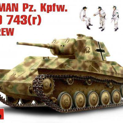 Beutepanzer T 70 de Miniart 1/35