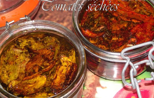 TOMATES SECHEES - HUILE D'OLIVE