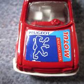 PEUGEOT 205 GTI GISIMA 1/52 MADE IN SPAIN - car-collector