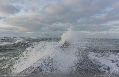 Photoreportage : La mer, à Préfailles, la pointe Saint Gildas