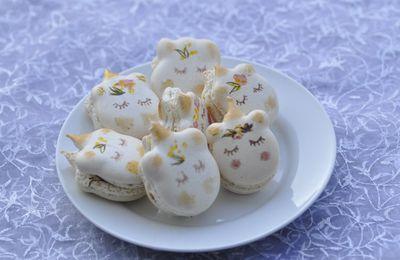 Macarons licornes