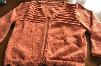 Un gilet en laine Phildar bien chaud