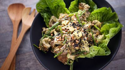 Chicken Seed and Coriander Salad
