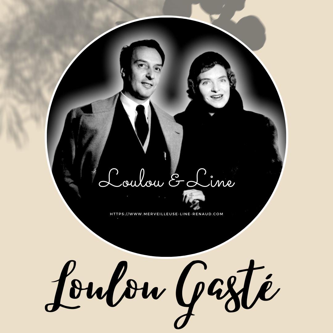 Info Blog: Hommage à Loulou GASTÉ il y a 26 ans il nous quittait.