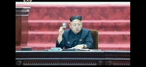 First parliamentary assembly in Pyongyang