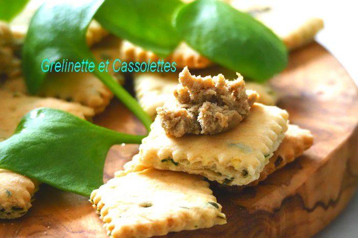 Crackers aux Herbes Aromatiques et Tartinables La Quiberonnaise