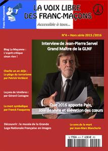 «  La Voix Libre des francs-maçons » n°4 est sortie (revue).