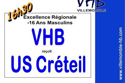 -16M1 VHB vs US CRETEIL (Excellence L.I.F.E. - 01.12.2012)