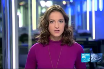 2012 01 15 @23H00 - MARION GAUDIN, FRANCE 24, LE JOURNAL