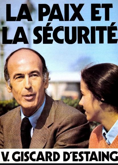 VALERY GISCARD D'ESTAING (2/6 )