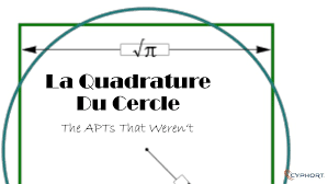 Quadrature du cercle
