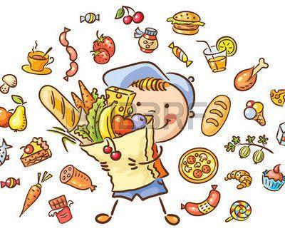 8. Yummy, yummy in my tummy.