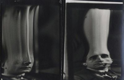 Distortion Marcel Duchamp @ Man Ray. 1925