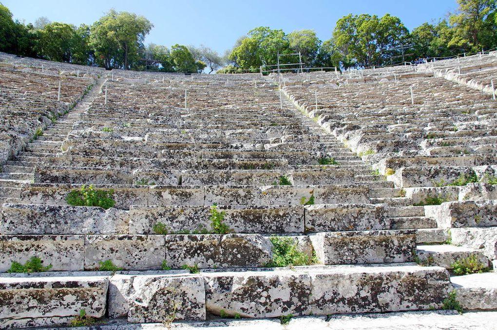 Le somptueux Théâtre d'Epidaure