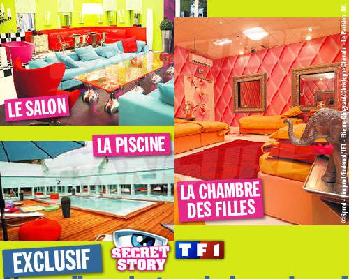 EXCLUSIF / Secret Story : Nouvelles photos de la maison !