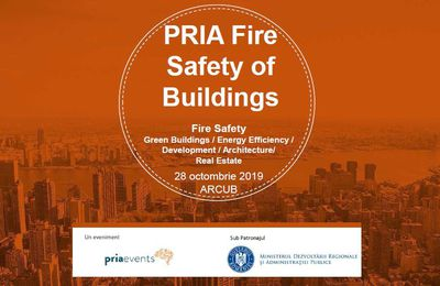 RoumanIE : Agenda – Conférence Pria Fire Safety of Buildings !