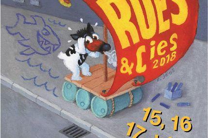 Epinal 35ème édition du festival « Rues et Cies » du 15 au 17 juin prochains