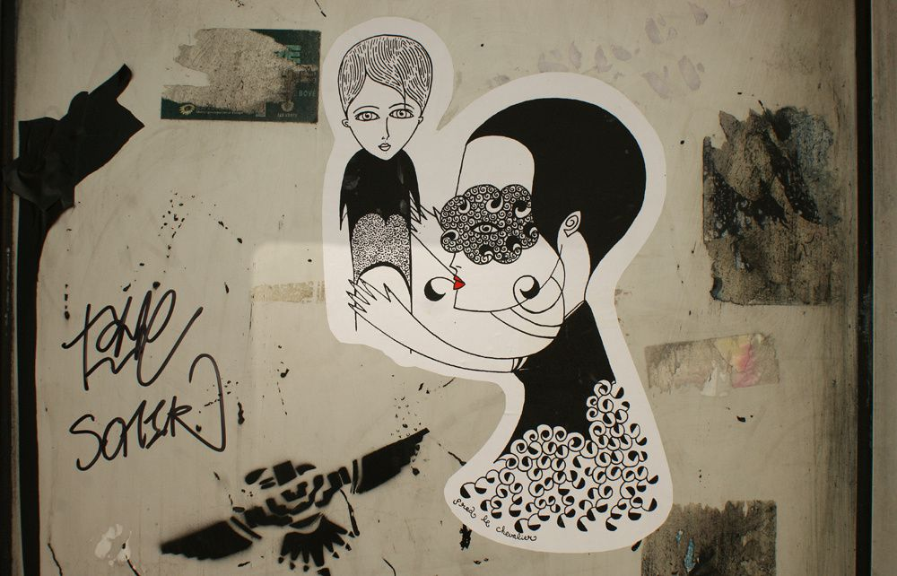 Album - Graffitis-PARIS-divers-Tom-005