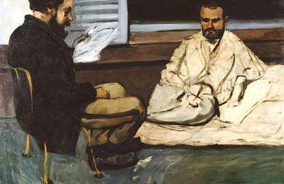 Emile Zola peint par Paul Cézanne