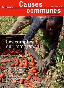 Avril 2014 - n°79 - Les comptes de l'immigration (Cimade)