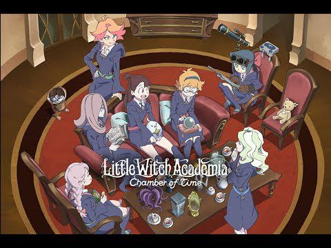 ACTUALITE : Little Witch Academia: Chamber Of Time disponible