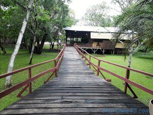 Paso de Lontra park hôtel (Brésil en camping-car)