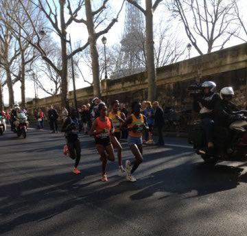 Finishers des 42,195 kilomètres de Paris