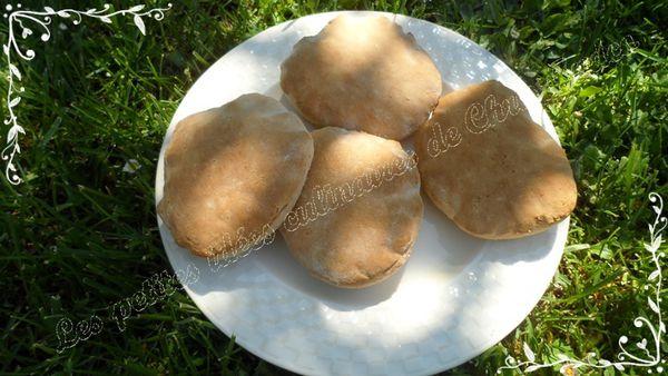 Petit pain Pita ou pain libanais