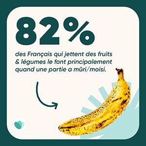 gaspillage banane
