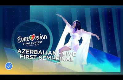 Aisel - X My Heart - Azerbaijan - LIVE - First Semi-Final - Eurovision 2018