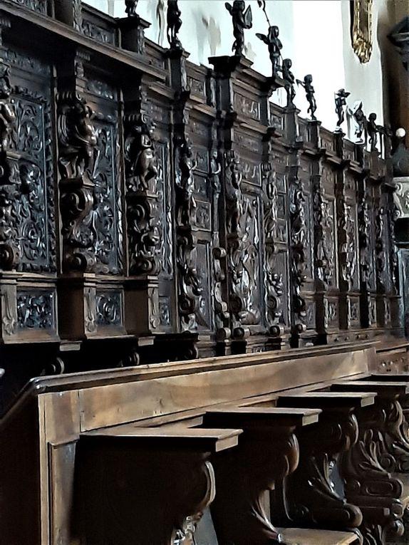 La chapelle de l'Hospice du Grand-Saint-Bernard.