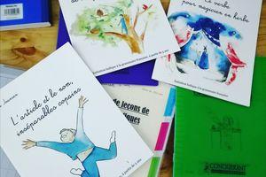 Livres d'aide à la grammaire de Laura Joansen