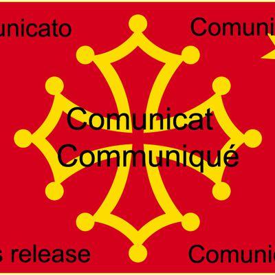 Communiqués du Parti de la Nation Occitane