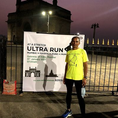 Arun Bhardwaj becomes the first Indian Ultra-Marathon Runner to complete the Mumbai-Nashik-Pune-Mumbai run